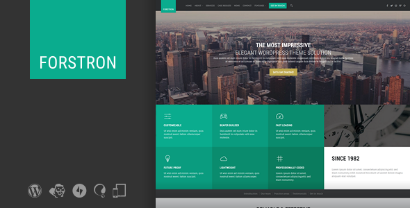 Forstron v1.9.2 — Legal Business WordPress Theme