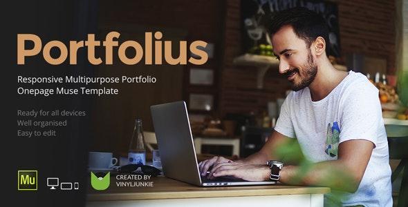 Portfolius v1.0 — Responsive Multipurpose Portfolio Muse Template