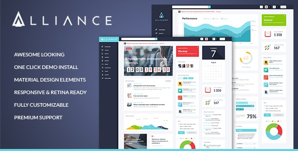 Alliance v2.4.3 — Intranet & Extranet WordPress Theme
