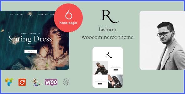 Rion v1.0 — Fashion WordPress Theme for WooCommerce