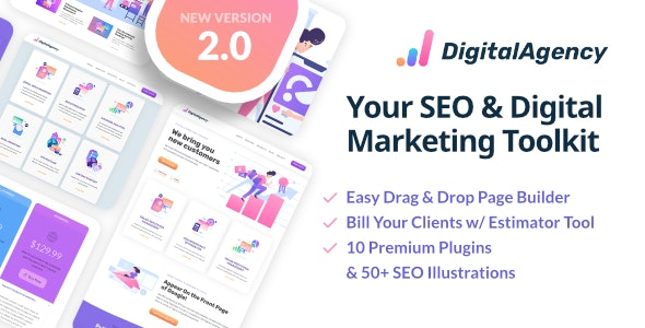 SEO WP v2.0.2 — Online Marketing, SEO, Social Media Agency