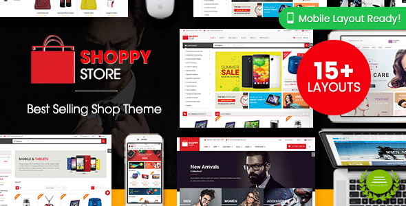 ShoppyStore v3.3.10 — WooCommerce WordPress Theme