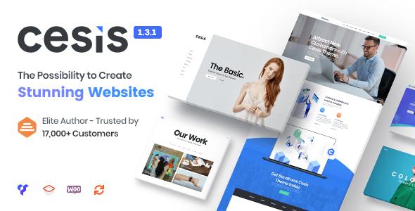 Cesis v1.6.0 — Responsive Multi-Purpose WordPress Theme