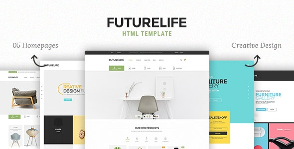 Futurelife v1.0 — eCommerce HTML Template