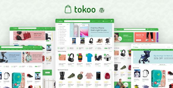 Tokoo v1.1.2 — Electronics Store WooCommerce Theme