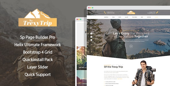 Mountis v1.0.5 — Hiking And Outdoor Club Joomla Template with Page Builder