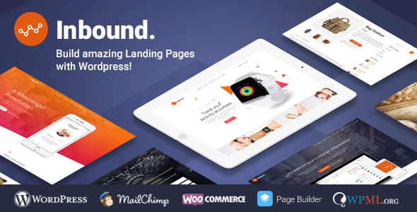Inbound v1.3.0 — WordPress Landing Page Theme