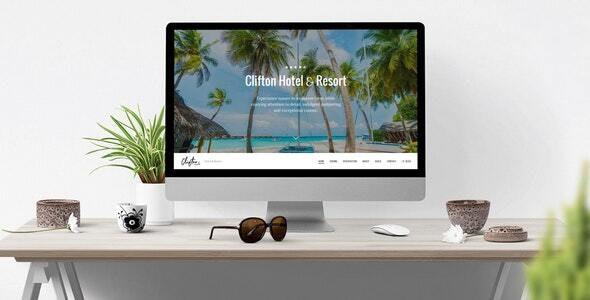 Clifton Hotel & Resort v1.0.0 — Travel Theme for Drupal