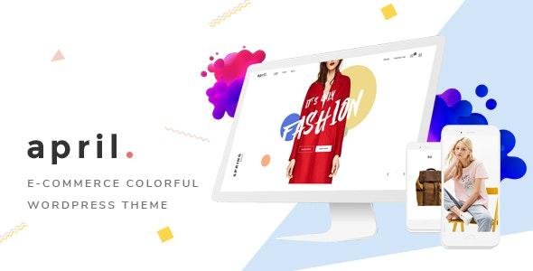 APRIL v4.1 — Wonderful Fashion WooCommerce WordPress Theme
