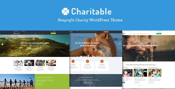 Charitable v2.1.6 — Charity Nonprofit Organization WordPress Theme