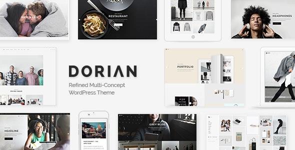 Dorian v2.0 — Refined Multi-Concept WordPress Theme