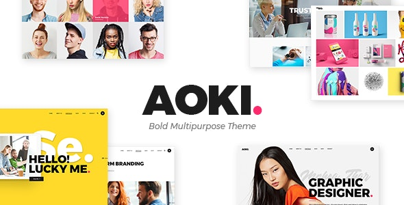 Aoki v1.4 — Creative Design Agency Theme