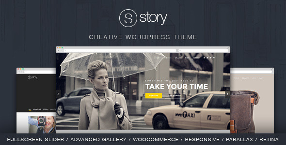 Story v1.9.9 — Creative Responsive Multi-Purpose Theme