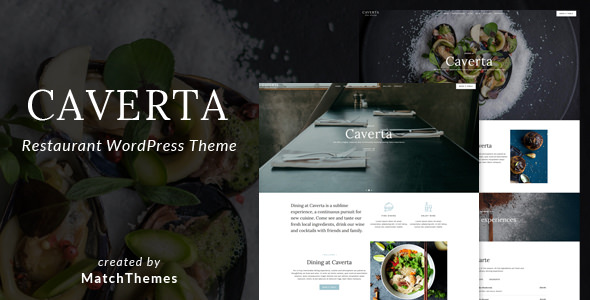 Caverta v1.2.6 — Fine Dining Restaurant WordPress Theme
