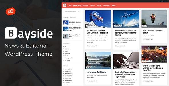 Bayside v2.0.0 — Responsive WordPress Theme