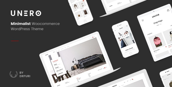 Unero v1.8.1 — Minimalist AJAX WooCommerce WordPress Theme