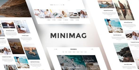 MiniMag v1.3.7 — Magazine and Blog WordPress Theme