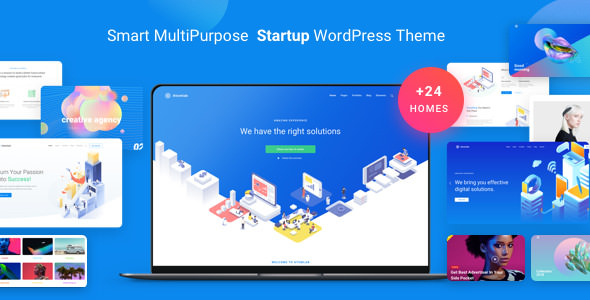 Atomlab v1.5.2 — Multi-Purpose Startup WordPress Theme