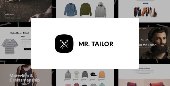 Mr. Tailor v2.9.9 — Responsive WooCommerce Theme
