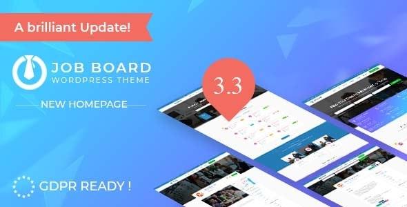 InJob v3.3.7 — Job Board WordPress Theme