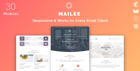 Mailee v1.0 — Responsive Multipurpose Email Template