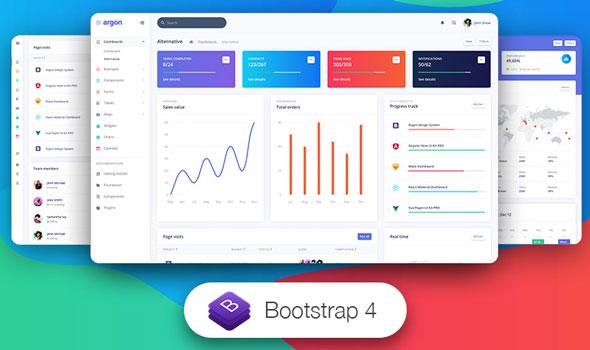 Argon Dashboard PRO v1.1.1 — Premium Bootstrap 4 Admin Template