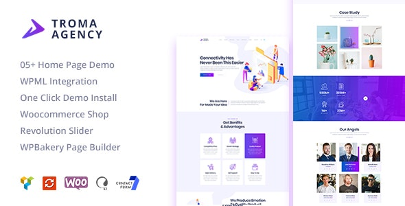 Troma v1.1.3 — Creative Digital Agency WordPress Theme