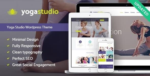 Yogastudio v1.7.2 — Gym and Healthcare WordPress Theme