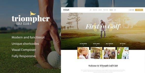 Triompher v1.1.0 — Golf Course & Sports Club WordPress Theme