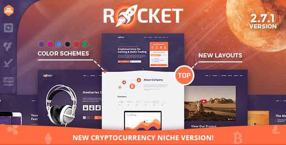 Rocket v2.7.6 — Creative Multipurpose WordPress Theme