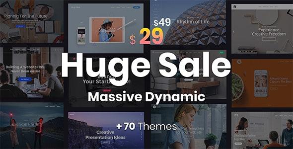 Massive Dynamic v7.3 — WordPress Website Builder