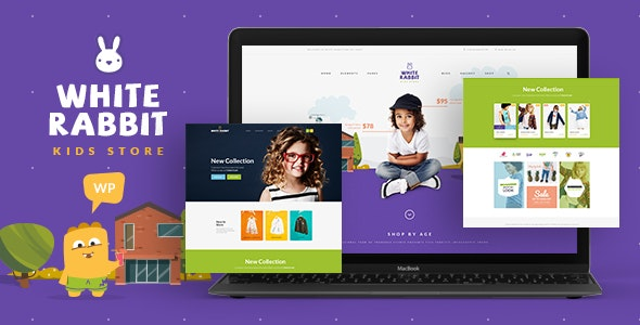 White Rabbit v1.3.3 — Kids Toys & Children Clothing Store