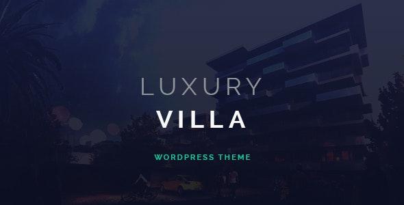 Luxury Villa v3.0 — Property Showcase WordPress Theme