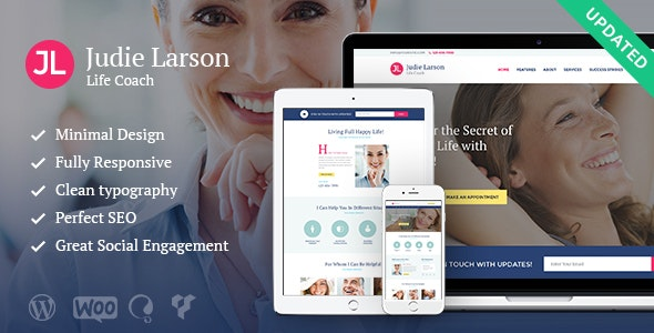 Life Coach and Psychologist Personal v1.9.1 — WordPress Theme