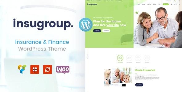 Insugroup v1.0.6 — A Clean Insurance & Finance WordPress Theme