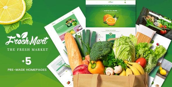 FreshMart v1.1.0 — PrestaShop 1.7 Theme — Organic, Fresh Food, Farm