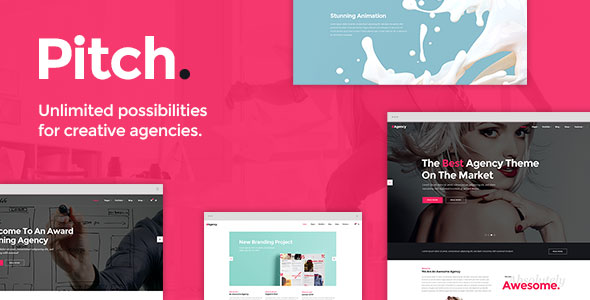 Pitch v3.2 — A Theme for Freelancers and Agencies