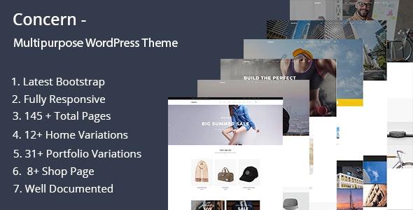 Concern v1.0.0 — Multipurpose and Portfolio WordPress Theme
