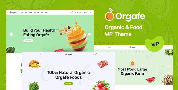 Orgafe v1.0.0 — Organic Food WordPress Theme