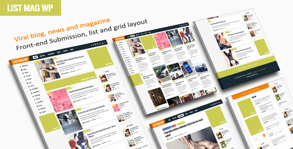 List Mag WP v2.5- A Responsive WordPress Blog Theme