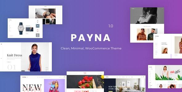Payna v1.0.4 — Clean, Minimal WooCommerce Theme