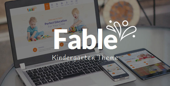 Fable v3.4 — Children Kindergarten WordPress Theme