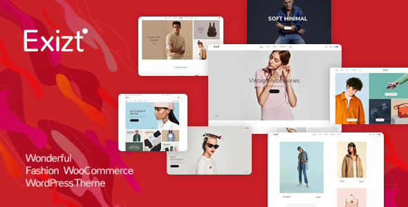 Exizt v1.0.14 — Fashion WooCommerce WordPress Theme