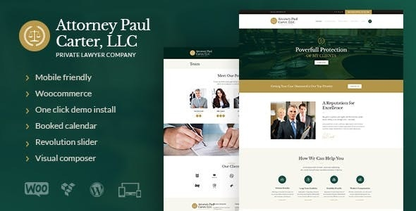 The Law v1.6.2 — A Classic Legal Advisers & Attorneys WordPress Theme