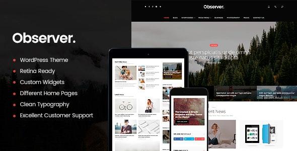 Daily Observer v1.8.2 — A Modern Magazine & News Portal WordPress Theme