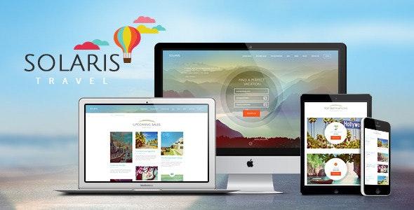 Solaris v2.5 — Travel Agency and Tour Booking Tourism WordPress Theme