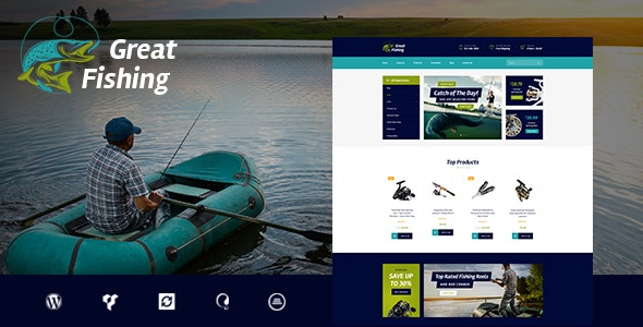 Fishing and Hunting Hobby v1.5.1 — WordPress Theme