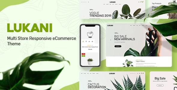 Lukani v1.0 — Plant Store Theme for WooCommerce WordPress