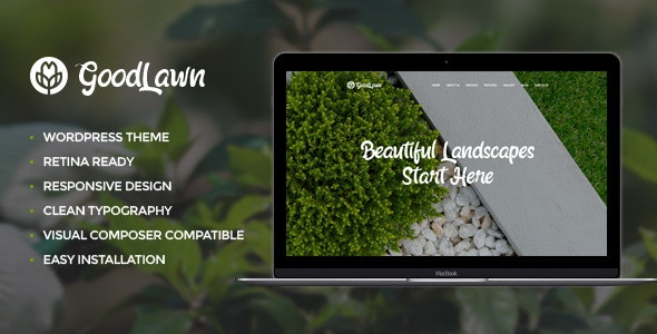 Green Thumb v1.1 — Gardening & Landscaping Services WordPress Theme