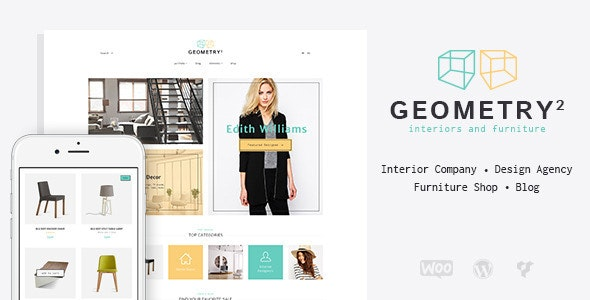 Geometry v1.9.1 — Interior Design & Furniture Shop WordPress Theme
